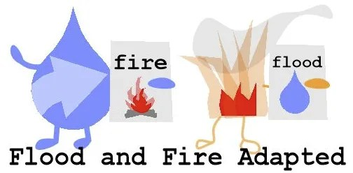 flood and fire