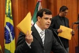 Vereador Paulo Borges: apesar o mal relacionamento com casal Iris, ele conta com proteção da deputada