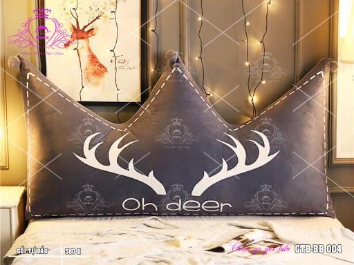 Gối tựa đầu giường hình ngôi sao cổ điển