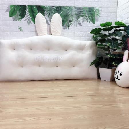 Gối tựa đầu giường hình tai thỏ