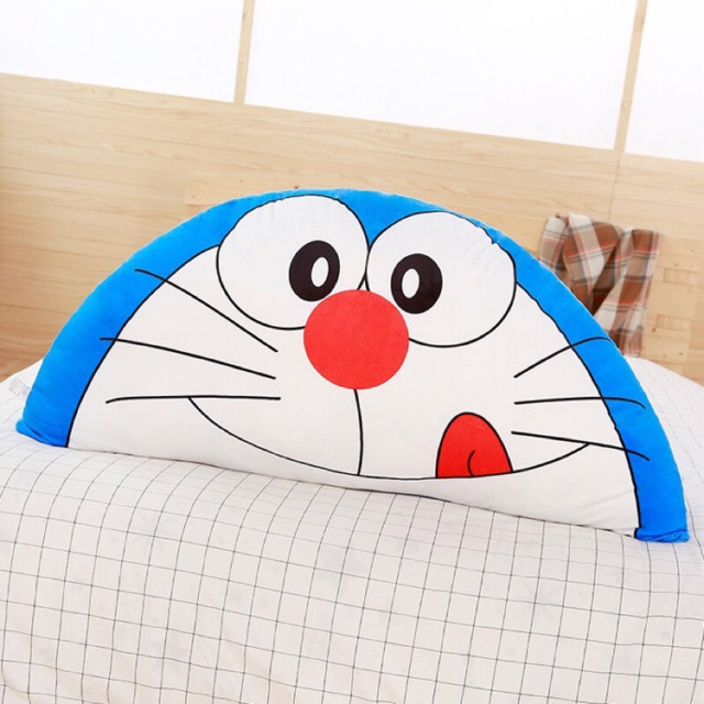 Gối tựa đầu giường hình doremon