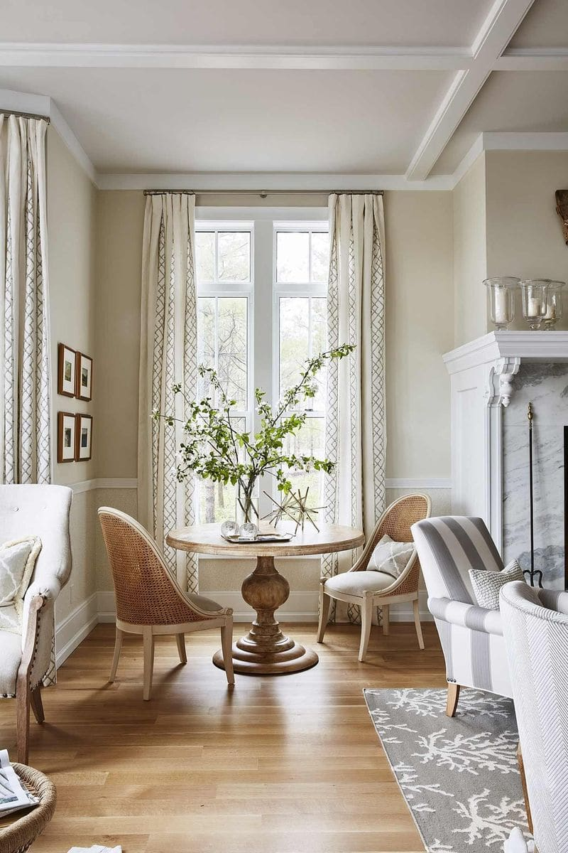 Trang trí nội thất phòng khách cổ điển đẹp