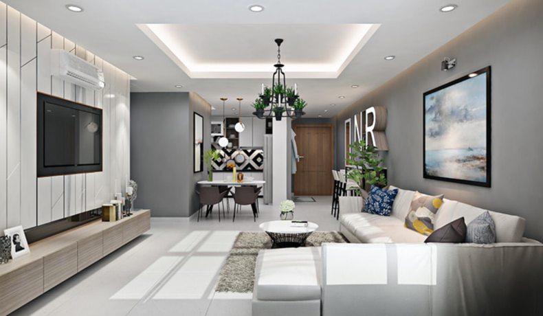 Nội thất phòng khách hiện đại