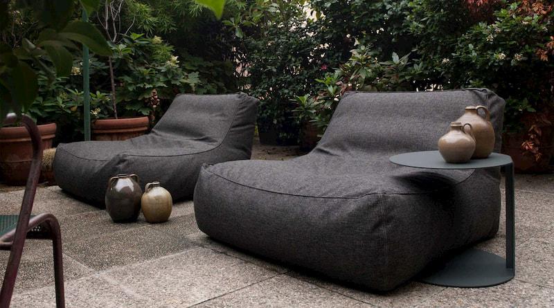 Ghế lười sofa lớn ngoài trời