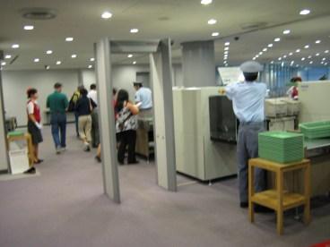 passing through Naruta International Airport before landing in Korea