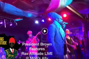 Ras Attitude Live US Virgin Islands Music News
