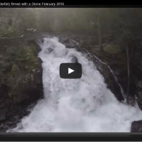 Filmed a Waterfall with the Drone (Deception Falls)