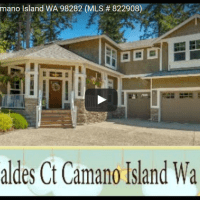 Drone Flight of a Camano Island Home