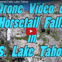 Drone Video of Horsetail Falls