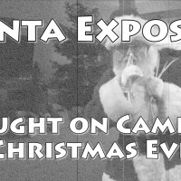Filmed Santa this Christmas Eve