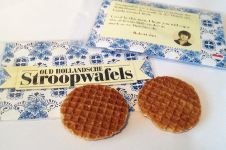 Speading some Dutchness along the way I couldn't help myself from making something extra to give away to the wonderful people I might meet on this journey. That is why I made multiple little packages containing the Dutch delicacy Stroopwafels. That is how I hope to share some Dutchness with the locals while I am engulfed by their country and rich cultures.
