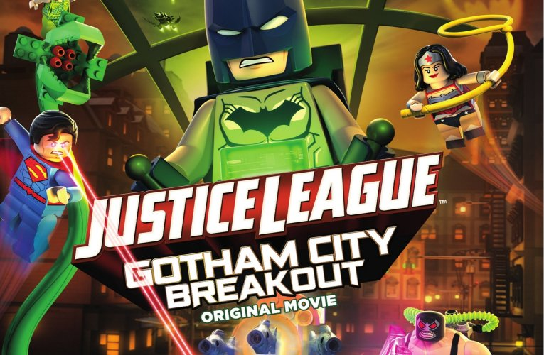 #MOVIES – LEGO® DC COMICS SUPER HEROES –  JUSTICE LEAGUE: GOTHAM CITY BREAKOUT