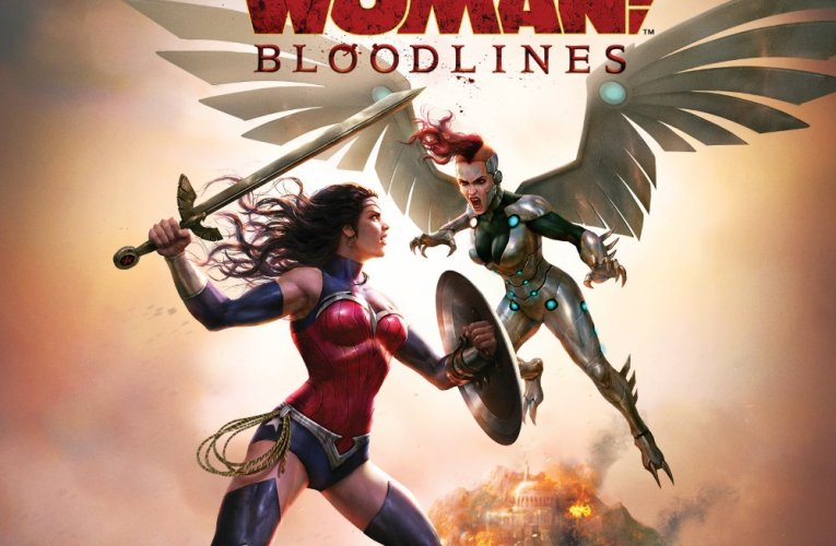 """Marie Avgeropoulos (The 100) shines as Silver Swan in new """"Wonder Woman: Bloodlines"""" clip"""