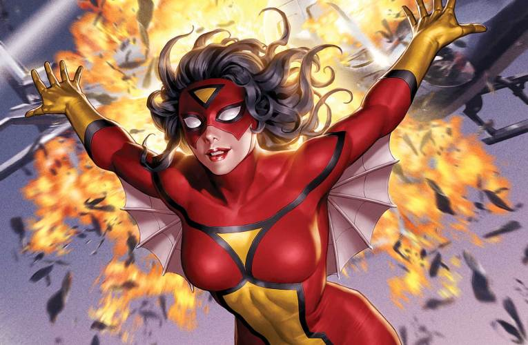 GET CAUGHT IN JESSICA DREW'S LATEST WEB OF INTRIGUE IN SPIDER-WOMAN #1