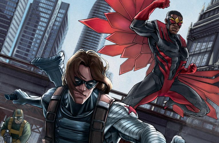 SEE THE TEAM UP YOU'VE BEEN WAITING FOR IN THE NEW FALCON & WINTER SOLDIER COMIC SERIES!