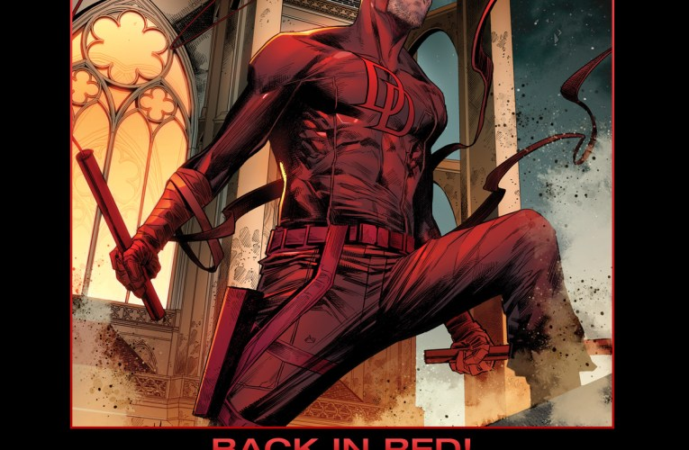 DAREDEVIL IS BACK IN RED THIS MAY!