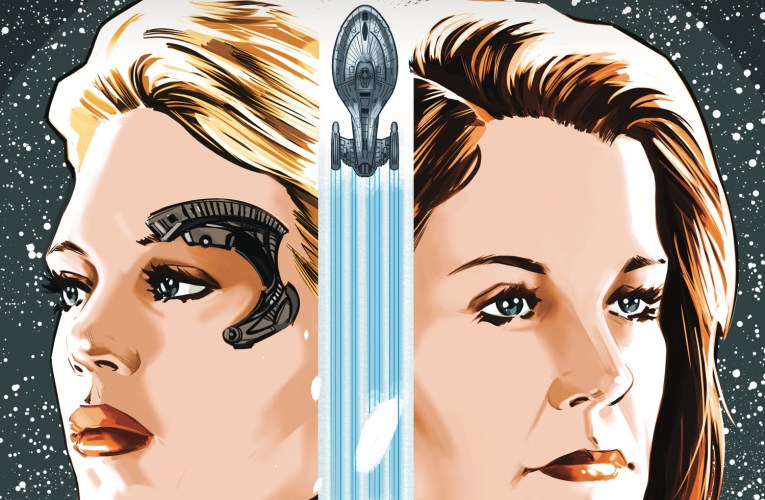 Seven of Nine Helms New Star Trek: Voyager Comic Book Miniseries from IDW