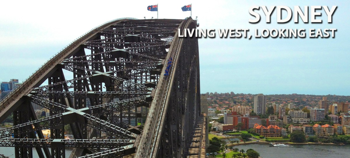Going Global - Sidney, Living West, Looking East