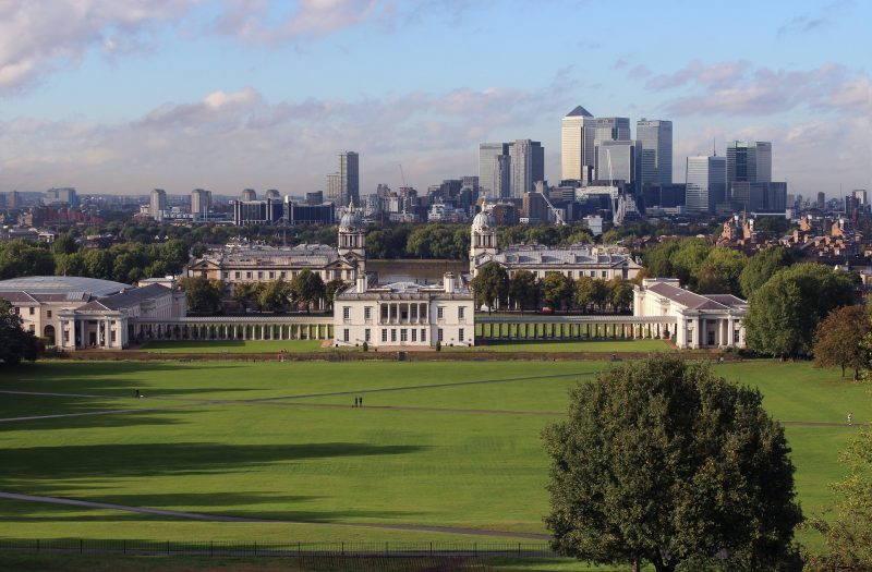 Londres parque greenwich
