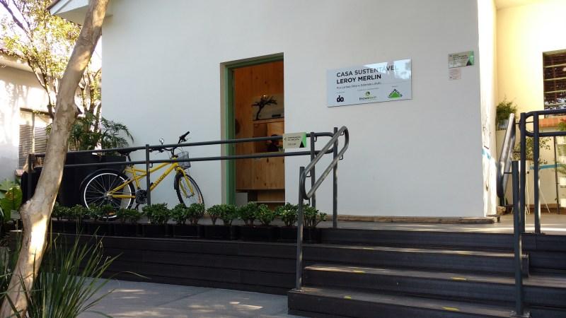 Casa Sustentável Leroy Merlin foi construída em patrimônio histórico
