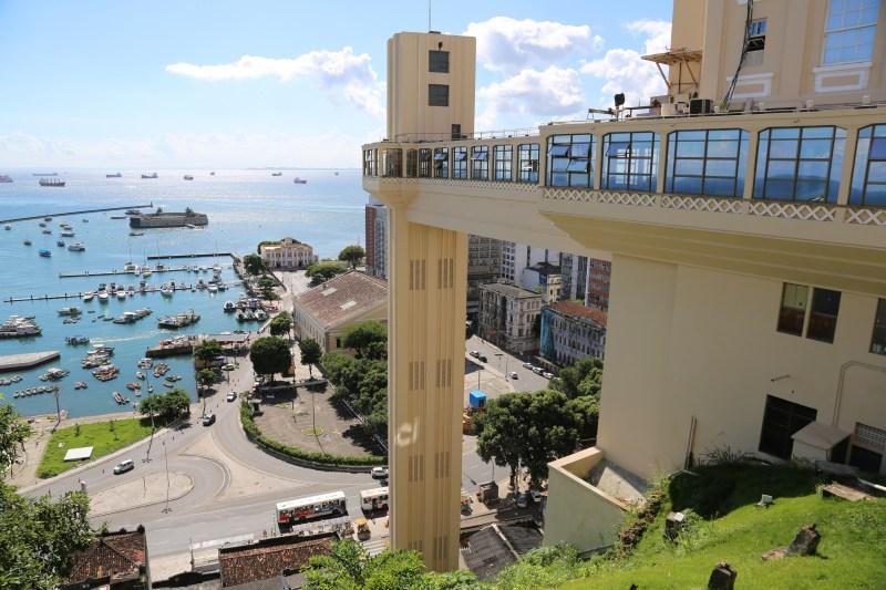 Vista de Salvador, capital da Bahia