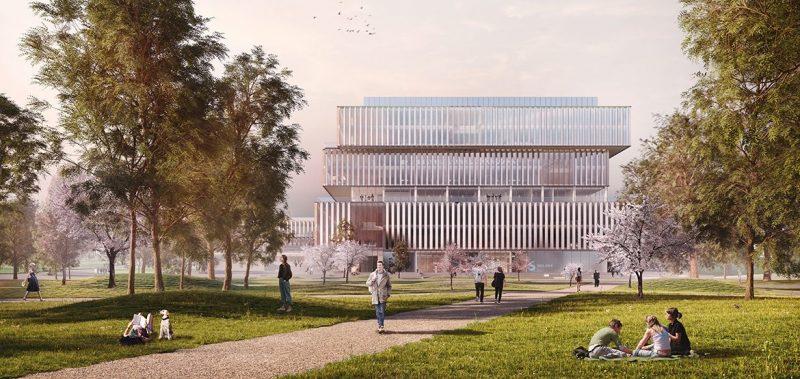 Nova sede da Solvay foi projetada pelo escritório Schmidt Hammer Lassen Architects