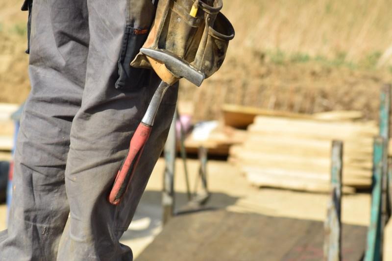 Entorno da obra também é beneficiado com o canteiro sustentável.
