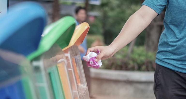 coleta de materiais recicláveis