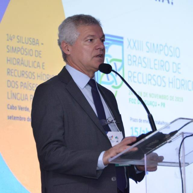 Adilson Pinheiro, presidente da ABRHidro
