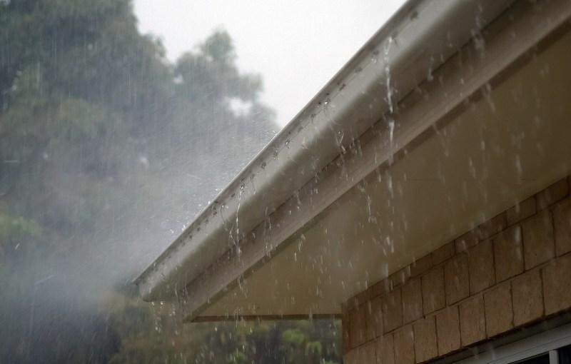 captação de águas pluviais