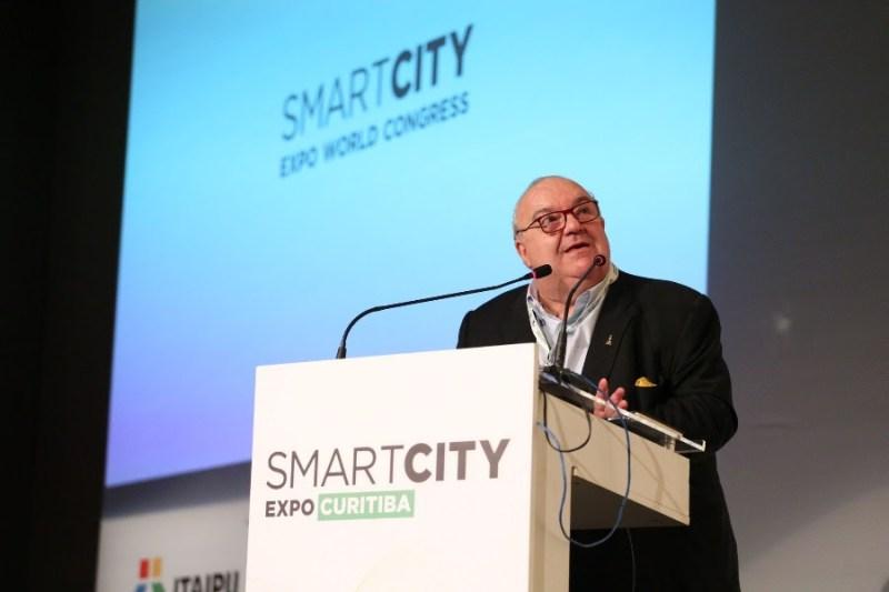 Rafael Greca no Smart City Expo Curitiba 2018