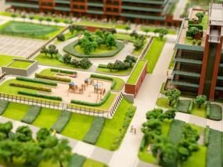 terraços verdes