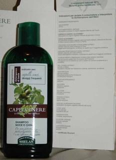 Shampoo noce e china Capelvenere