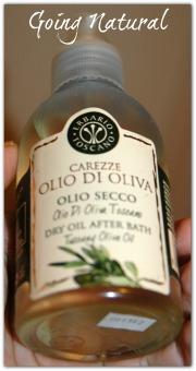 olio secco Carezze d'olio d'oliva Erbario Toscano