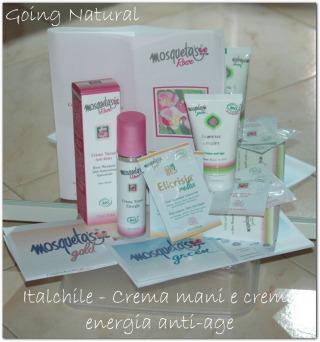 Prodotti Italchile cosmesi ecobio all'olio di rosa mosqueta