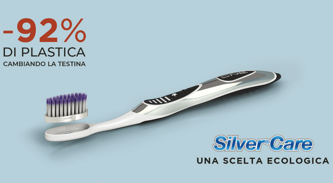 spazzolini ecologici silver care