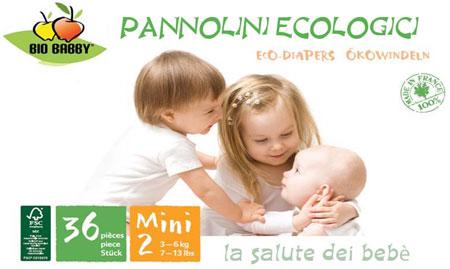 Pannolini ecologici biobabby