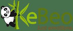 kebeo corredino neonato in cotone biologico