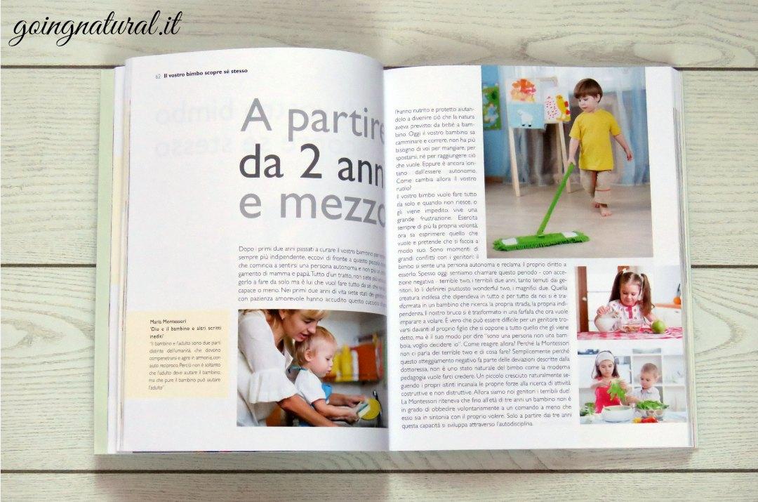 Metodo Montessori a casa per bambini 3-6 anni