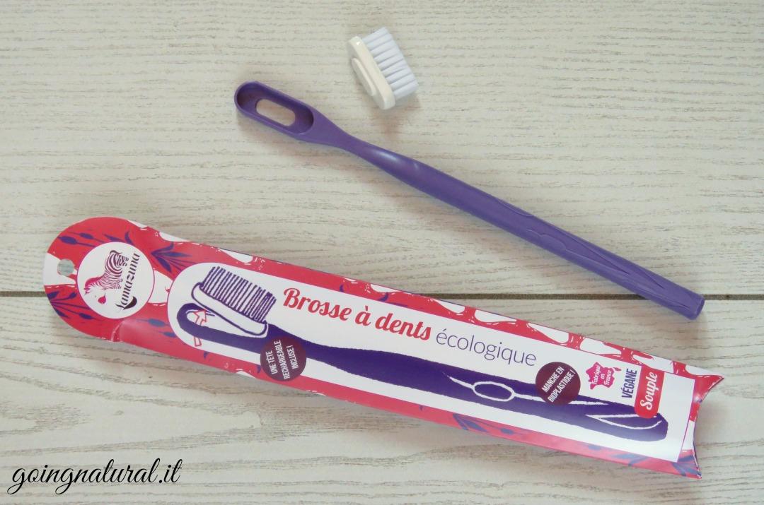 lamazuna spazzolino testina intercambiabile