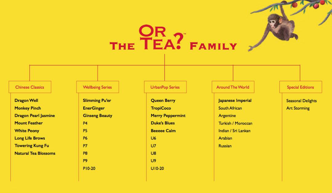 or tea tutti gusti