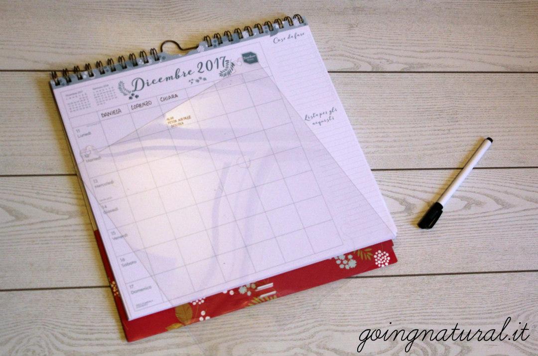 planning settimanale calendario