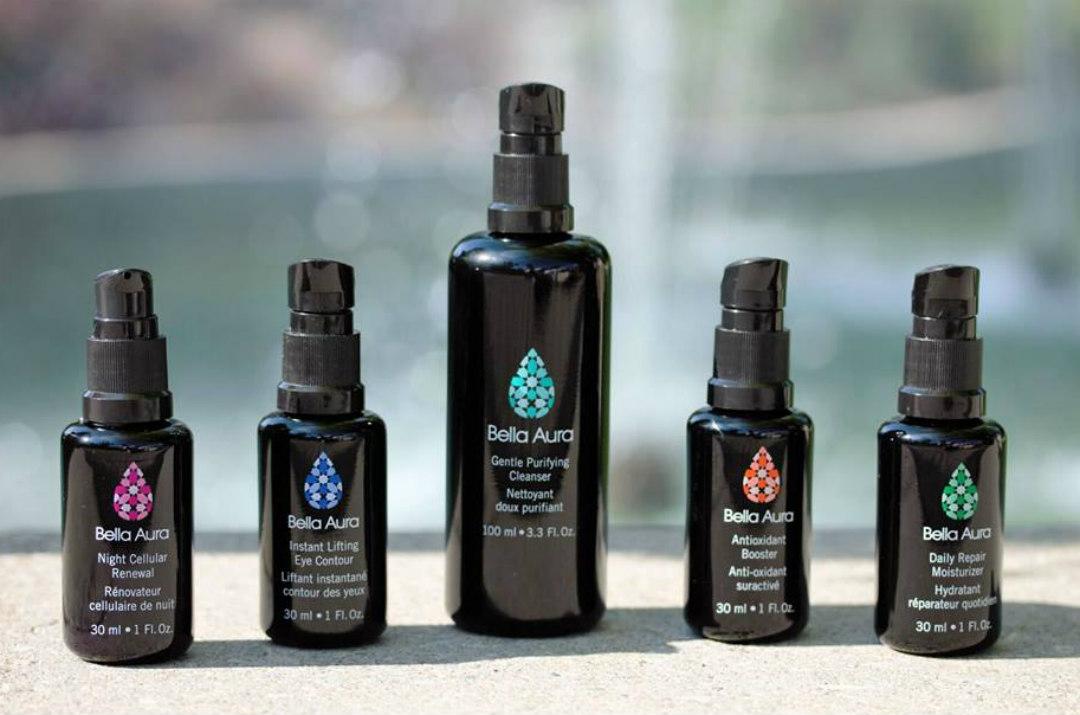 Bella Aura skincare original packaging