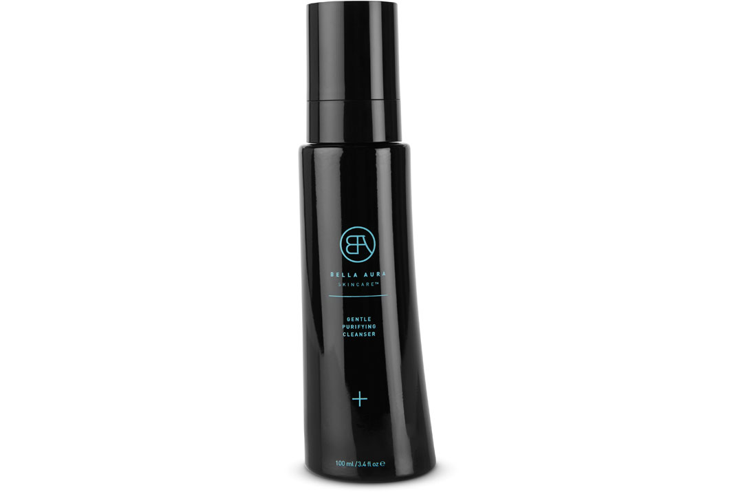 bella aura skincare gentle purifying cleanser