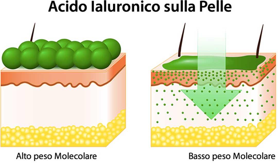 acido ialuronico puro penetrazione pelle
