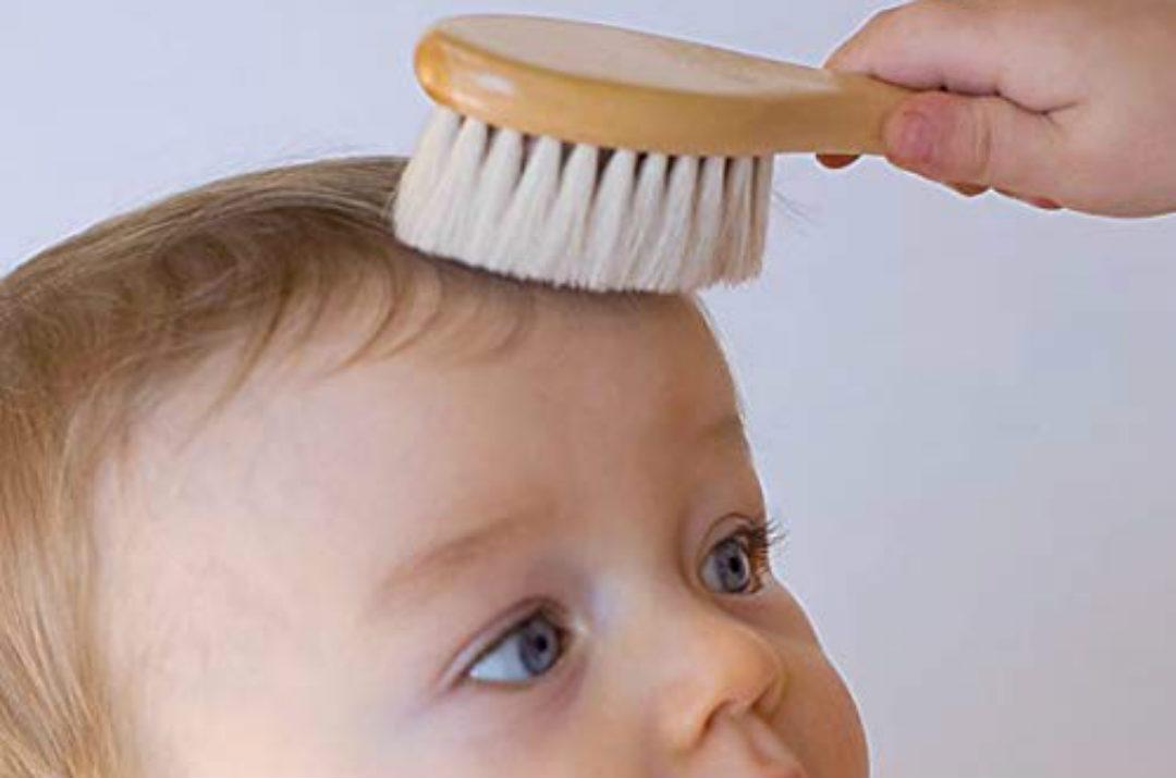 crosta lattea neonato spazzola