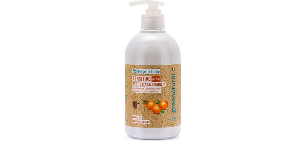 greenatural sensitive detergente intimo bambina