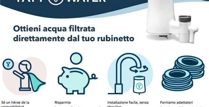 Tapp Water : esperienza d'uso ed opinioni sul primo filtro rubinetto biodegradabile