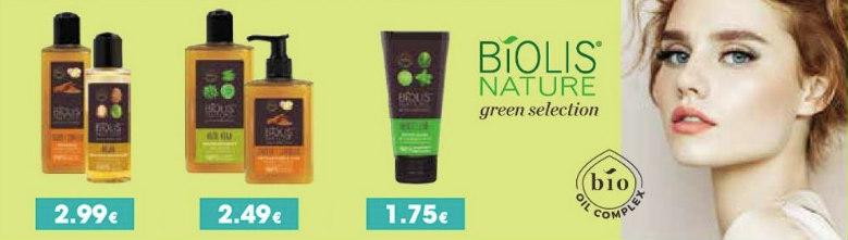 Biolis Nature green selection