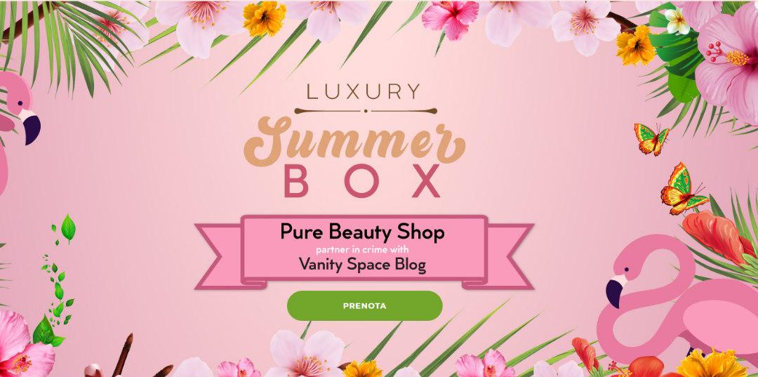 luxury summer box prenotazione